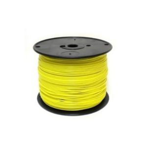 18 Gauge Yellow Tracer Wire – 1000′