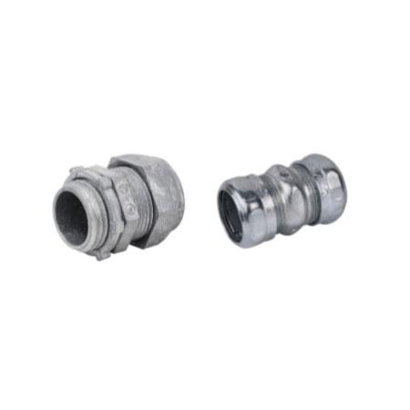 EMT Zinc Compression Connector 3/4″