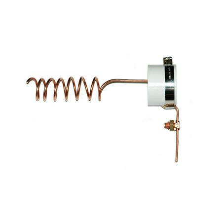 1-1/2″ Fitting, Stainless Steel wire & #8 Copper Split Bolt