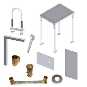 Equipment Racks / Rail Anchor Cups