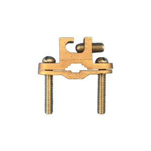 "1-1/4"" – 2″ Ground Clamps for Pipe and Rebar For Direct Burial"