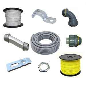 Conduit/ Liquid-Tite Fittings/ Wire/ Whips