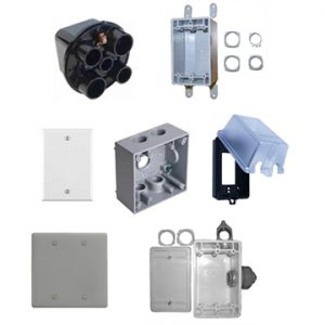 Junction Boxes / Weatherproof Boxes and Covers