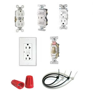 Wiring Devices/ Switches/ Receptacles/ Wire Nuts/ Cable Ties
